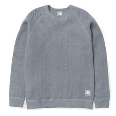 Slam Jam x Carhartt WIP Chase Thermal Sweatshirt - Grey