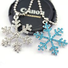 Elsa Necklace Snowflake Silver Pendant Necklace Christmas Gift(China (Mainland))