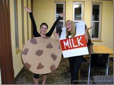 Milk and Cookies Halloween costumes!