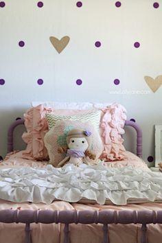 Purple Bedroom Design, Purple Bedrooms, Gold Bedroom, Teen Girl Bedrooms, Bedroom Designs, Room Ideas Bedroom, Kids Bedroom, Bedroom Decor, Kids Rooms