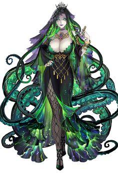 Fantasy Girl, Dark Fantasy Art, Fantasy Women, Anime Fantasy, Fantasy Character Design, Character Design Inspiration, Character Concept, Character Art, Girls Characters