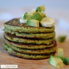 I created a recipe for avocado pancakes. These avocado pancakes are healthy (no butter or sugar is needed), lactose free, wheat free and gluten free. Keto Pancakes Coconut Flour, Honey Pancakes, Banana Oat Pancakes, Low Carb Pancakes, Avocado Breakfast, Vegan Pancakes, Chocolate Pancakes, Almond Flour, Breakfast