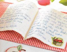 Fabric Recipe Book