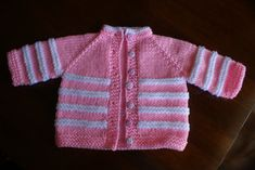 Baby Cardigan pattern by Bhavna Misra - Crochet , Baby Cardigan pattern by Bhavna Misra Ravelry: Baby Cardigan pattern by Bhavna Misra Strick für Zwerge. Baby Booties Knitting Pattern, Baby Sweater Patterns, Knitted Baby Cardigan, Sweater Mittens, Cardigan Pattern, Baby Sweaters, Baby Knitting Patterns, Baby Patterns, Pink And White Stripes