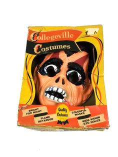 Vintage Halloween Costume Mask