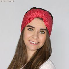 Coral Candy Headband | AllFreeCrochet.com