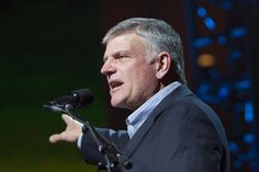 """The Rev. Franklin Graham says that just as he tries to """"emulate"""" Jesus, who was """"a man of peace,"""" Muslims try to emulate their leader, who """"was a man of war."""" """"Muhammad was a man of war and he killed many people,"""" Graham told Tucker Carlson on """"Fox & Friends Weekend"""" on Sunday. """"Jesus Christ …"""