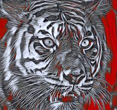 Arte Pop, Leopards, Big Cats, Mosaics, Lions, Cool Stuff, Natural, Artwork, Animals