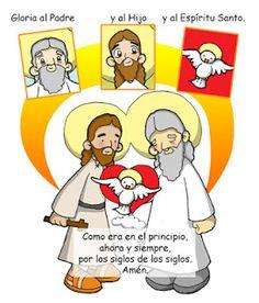 JESUS PASA X AQUI: GLORIA , SANTISIMA TRINIDAD ....EN DIBUJOS