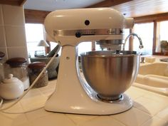 How to Fix Your Overloaded Stand Mixer - step-by-step instructions (with pictures) to show you what to do if you ever break a gear in your Kitchen-aid ~ will save you hundreds of dollars.