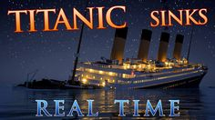 The sinking of the Titanic has now been brought to you in real time. The RMS Titanic was a British passenger ship that sank in the freezing waters of the Rms Titanic, Titanic Rose, Titanic Sinking, Titanic Deaths, Titanic Wreck, Story Of Titanic, Titanic History, Mtv, Ship Breaking