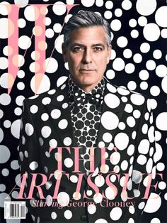 George Clooney's W magazine cover style!