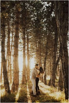 Golden Winter Glow in the Woods - Travel Couple Forest Engagement Photos, Engagement Photo Poses, Engagement Photo Inspiration, Engagement Couple, Engagement Pictures, Engagement Shoots, Fall Engagement, Country Engagement, Mehendi Photography