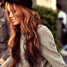 Fall hair color - Pay no attention that it is Miley lol.