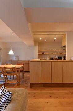 奈良 大和高田の家 | 木のマンションリフォーム・リノベーション設計実例 | 木のマンションリフォーム・リノベーション-マスタープラン一級建築士事務所