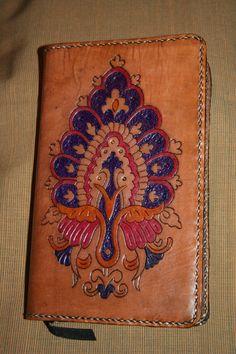Notebook Cover Handmade Leather in Brown  by BlackthornWorkshop, $75.00