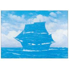 Le Seducteur' by René Magritte Graphic Art Longshore Tides Rene Magritte, Max Ernst, Salvador Dali, Vladimir Kush, Magritte Paintings, Oil Painting Reproductions, Exhibition Poster, Conceptual Art, Surreal Art