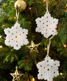 Snowflake Ornament free pattern