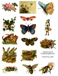 6 free collage sheets Use with glass tiles, tray pendants for jewelry, fridge magnets, wood shapes @ecrafty #ecrafty