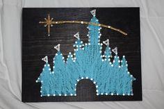 Disney Castle String Art