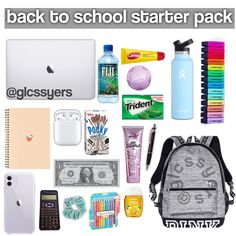 Back To School Hacks For Teens, Middle School Supplies, Middle School Hacks, High School Hacks, Life Hacks For School, School Study Tips, College Supplies, Back To School Essentials, Morning Routine School