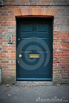 front door colors with red brick house - google search - shade is