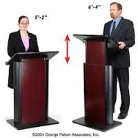 Image result for portable lectern