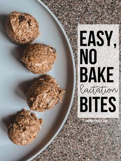 recipe: easy, no bake lactation bites