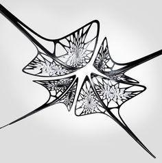 zaha hadid + barnaby barford among chandelier creators for david gill