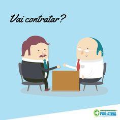 Sua empresa vai contratar um novo colaborador? Conte com a Clínica Pró-Ativa para realizar o exame admissional ;) #Contratando #Admissional #ProAtiva