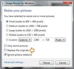 A Simple Way to Resize Multiple Images at Once on Windows