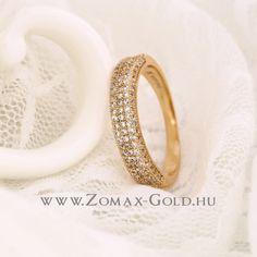 Klementina gyűrű - Zomax Gold divatékszer www. Wedding Rings, Engagement Rings, Gold, Jewelry, Enagement Rings, Jewlery, Jewerly, Schmuck, Jewels