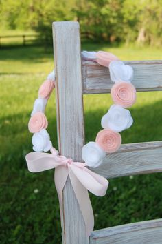 Flower Crown Hair Wreath Headband  Felt Flowers  by CuriousBloom, $24.00