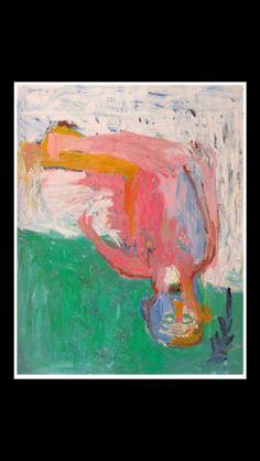 """Georg Baselitz - """" Die Hamburger Beweinung """", 1984 - Oil on canvas - 250 x 200 cm"""