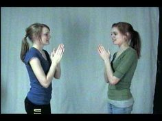 Hand Clapping Games- these are SO GOOD!!!  The girls explain how to do tons of cool clapping games