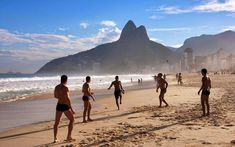 Discover the famous Ipanema Beach, one of the most beautiful beaches in Rio de Janeiro, Brazil #travel #vacation #IpanemaBeach #Brazil #traveltips