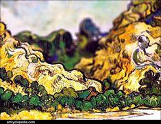Tilt shift effect applied to van Gogh paintings - Album on Imgur