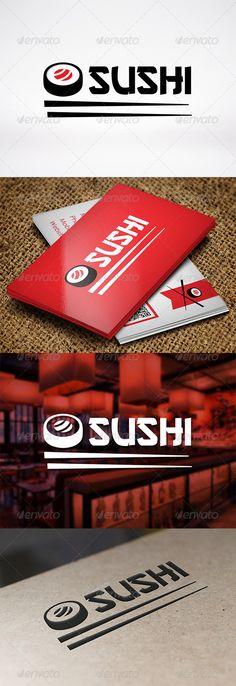 Logotipo para Restaurantes Japoneses y Sushi Bars.