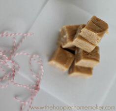 super easy peanut butter fudge recipe