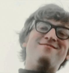 Love it when John wore these glasses