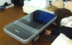 An iphone coffee table
