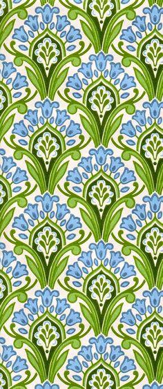 Great green, blue, white pattern | coquita via tumblr