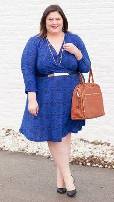 Curvalicious Clothes::Plus Size Dresses::Meredith Plus Size Dress in Vintage Bohemian Print