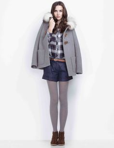 Conseil mode : le duffle coat pour femme Maje
