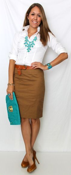 cute work outfits-professional