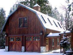 Gorgeous gambrel barn garage