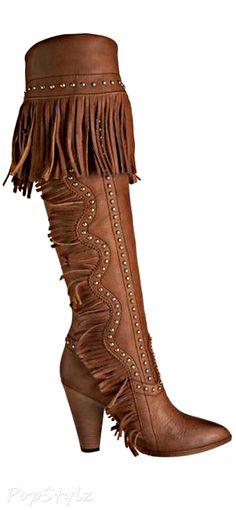 Dolce & Gabbana Knee-High Leather Boot