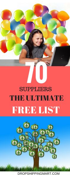 The Ultimate Dropshipper List of 70 Suppliers by Niche - What Is Dropshipping? Check out the dropshipping forum and see how dropshippers run their business without keeping stock. - The Ultimate Dropshipper List of 70 Suppliers by Niche Make Money From Home, Way To Make Money, Make Money Online, Dropshipping Suppliers, Drop Shipping Business, Business Inspiration, Business Ideas, Starting Your Own Business, Home Based Business