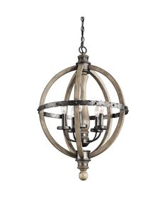 Buy the Kichler Distressed Antique Gray Direct. Shop for the Kichler Distressed Antique Gray Evan 5 Light Wide Globe Style Chandelier with Candle-Style Arms and save. 3 Light Chandelier, Globe Chandelier, Pendant Lighting, Light Pendant, Rustic Chandelier, Vintage Chandelier, Circular Chandelier, Driftwood Chandelier, Industrial Style