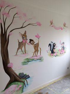 Imagini pentru bambi wall mural